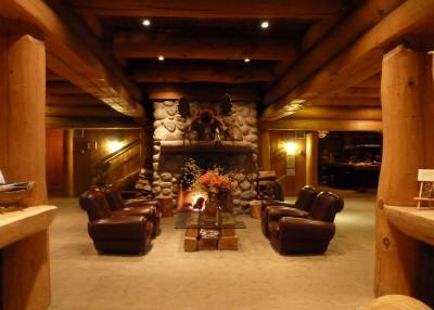 Intérieur de l'Hotel Sacacomie