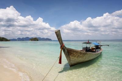 Plage et bateau - Koh Samui