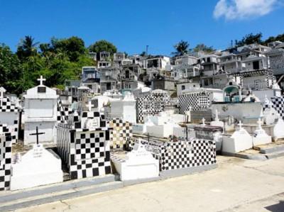 Cimetière de Morne-à-l'eau - Guadeloupe