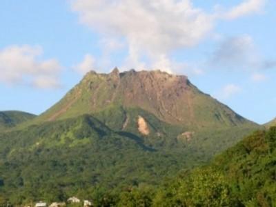 Volcan de la Soufrière - Guadeloupe