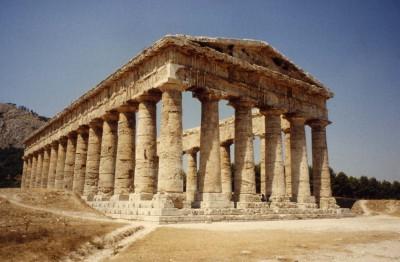 Temple de Segeste - Sicile