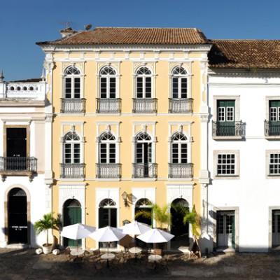 Facade Villa Bahia, Pelourinho, Salvador de Bahia April 2009