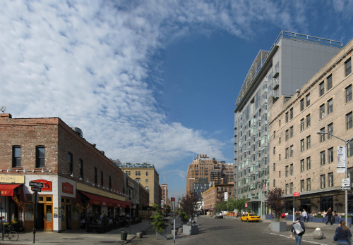 Le quartier de Meatpacking