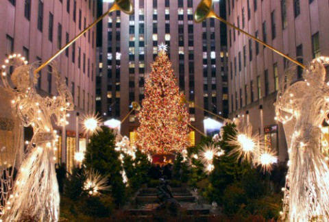 New York - Sapin Rockfeller center