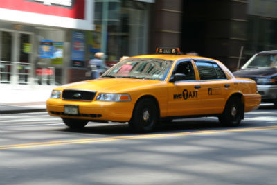 Les fameux taxis new-yorkais