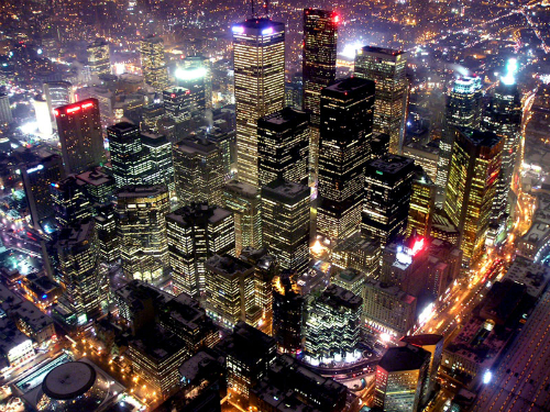 Toronto, cosmopolite et multiculturelle.