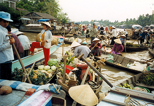 Chao Phraya Marche flottant