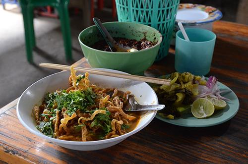 Le Khao soi de Chiang Mai